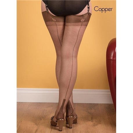 What Katie Did Fully Fashioned Cuban Stockings H2034
