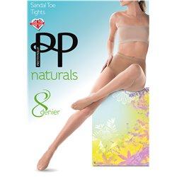 PRETTY POLLY Collant Naturals Sandal Toe APA5