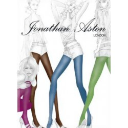 JONATHAN ASTON Collant couleur 15D