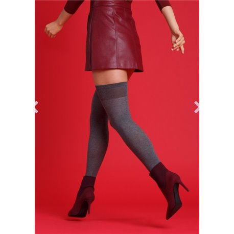 Steven Wool Collection Overknee ART 089Fashionable over-the-knee  socks from STEVEN in a comfortable and warm wool and acrylic b
