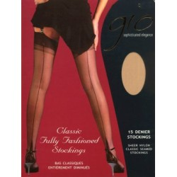 GIO Fully Fashionned  Natural Stockings