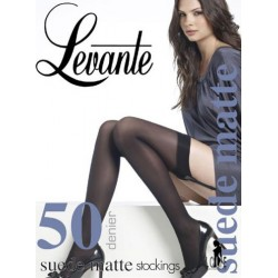 Suede Matte 50 Stockings LEVANTE