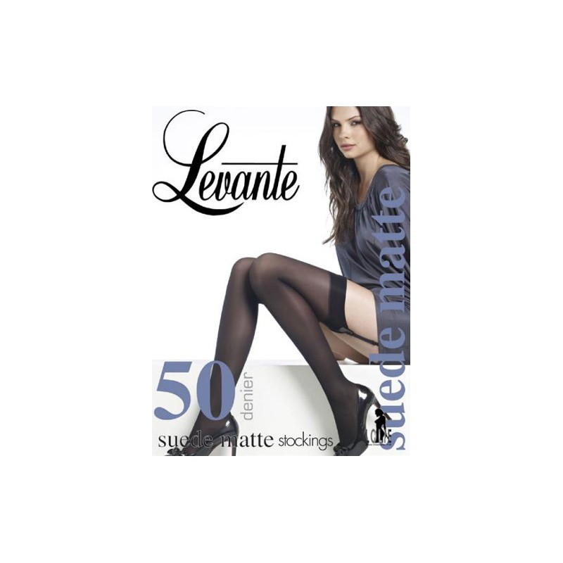 7a8ea297454 Suede Matte 50 Stockings LEVANTE Levante 50 deniers SUEDE MATTE ...