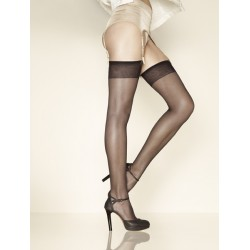GERBE SUN SATIN 10 Sheer mat stockings