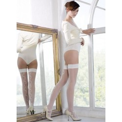 Bas Top Lace Bow