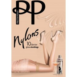PRETTY POLLY Bas Nylons 10 deniers  GLOSS
