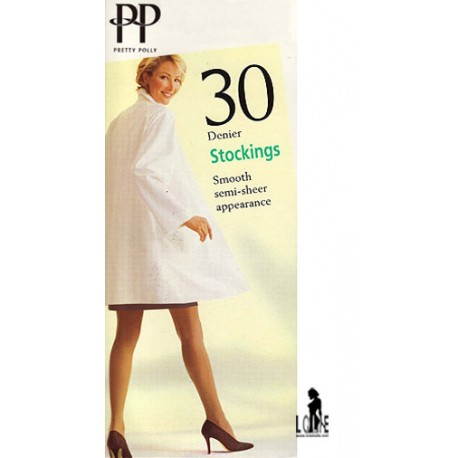 Bas 100% Nylons 30 deniers   SMOOTH  PRETTY POLLY
