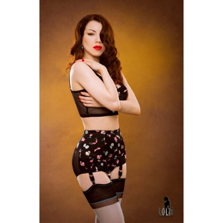 22a37352f2d Kiss Me Deadly CANDY Box suspender belts - LOLIE BELLE