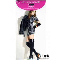 LE BOURGET Oh Mademoiselle PRETTY over knee socks Le Bourget
