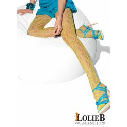LE BOURGET Oh Mademoiselle FUSION Fancy net tights