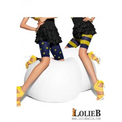 LE BOURGET Oh Mademoiselle HIP HOP pack of 2 fancy cycle shorts