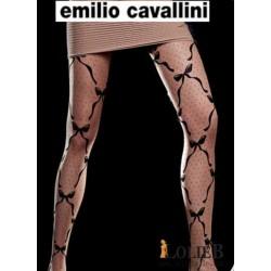 Emilio Cavallini Collant NOEUDS ET POIS