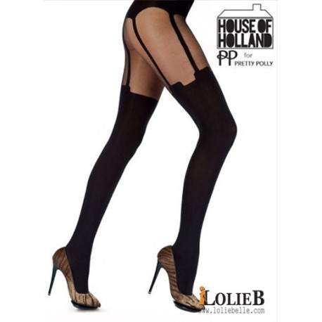 Collant fantaisie Super Suspender  House of Holland
