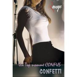 RAVAGE  CONFETTI Top Confus