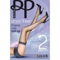 Bas Top Mat 10 deniers PRETTY POLLY