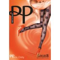 PRETTY POLLY Collant DOTTY LACE SPOT