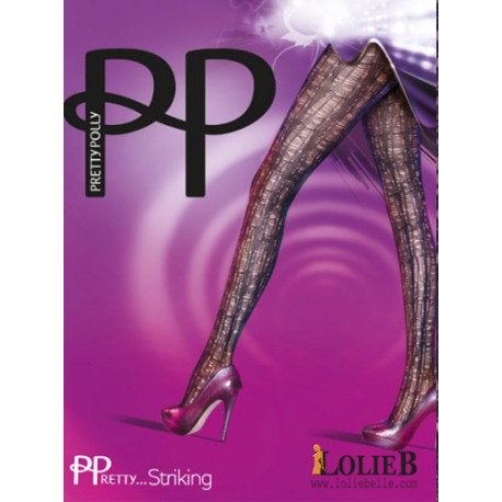 Collant filet  Striking Laddered  PRETTY POLLY