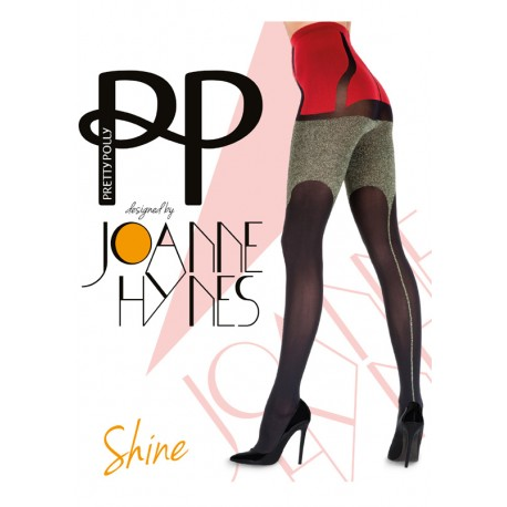 Collant Joanne Hynes Shine  Embellishment Tights   PRETTY POLLY