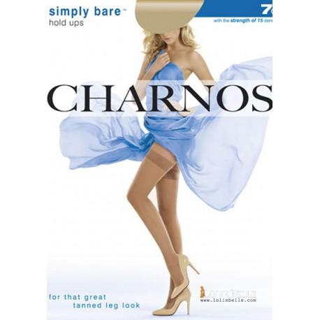 CHARNOS Bas jarreti?re Simply Bare