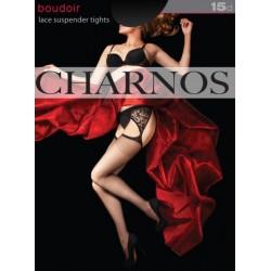 CHARNOS Satin Sheer Stocking BOUDOIR 10D
