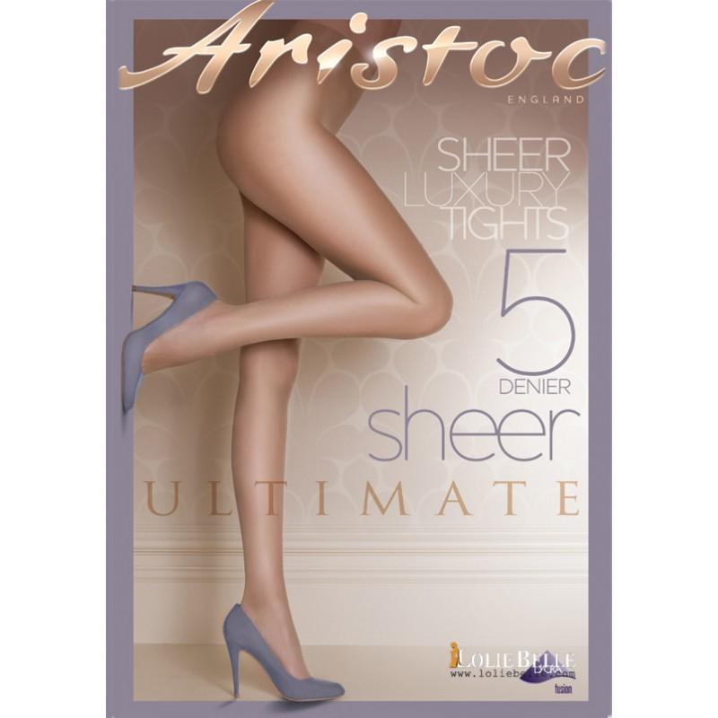 Aristoc slimline taille aux pieds minceur collants grande sunblush 15 deniers lycra