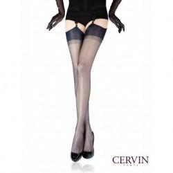 Bas Nylon CERVIN CAPRI 15 porte jarretelles