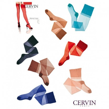 Bas couture Nylon CERVIN Seduction Couture