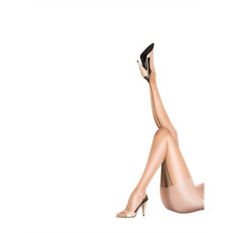 Collant couture Nylons 10 deniers ? talon cubain GLOSS  PRETTY POLLY