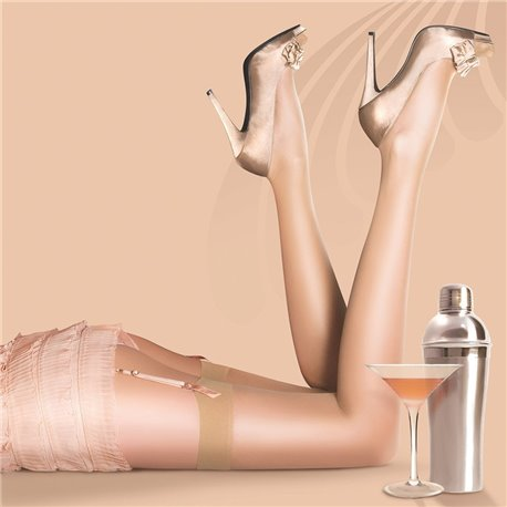 Bas  Nylons 10 deniers  GLOSS  PRETTY POLLY