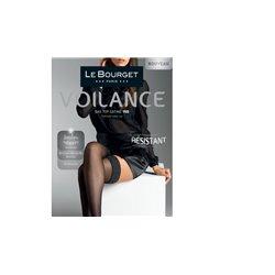 LE BOURGET Bas jarretière Voilance 15