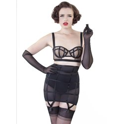 Bettie Page Cage Girdle BP002