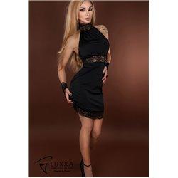 Lace Cuffs Reglisse  Luxxa