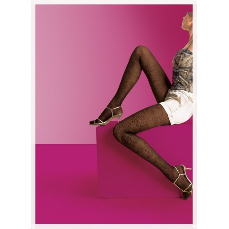 9a0712051afb2 GERBE Fancy Tights PYTHON - LOLIE BELLE