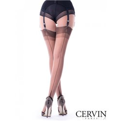CERVIN TENTATION  Fully Fashionned Seam Stockings