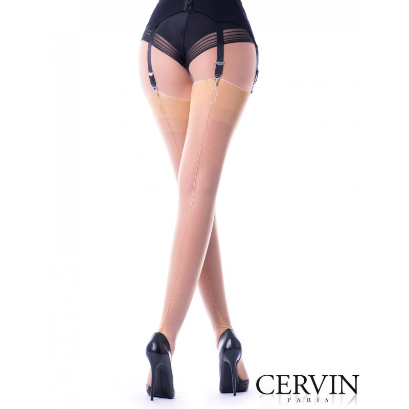 235c89580fe CERVIN TENTATION Fully Fashionned Seam Stockings Fully Fashionned ...
