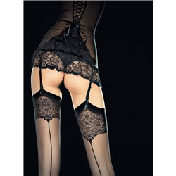 FIORE Seam Stockings Vesper