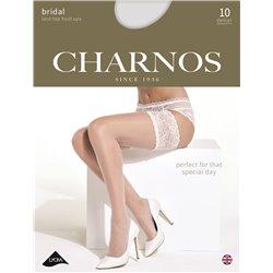 CHARNOS Bas jarretière dentelle  Mariage