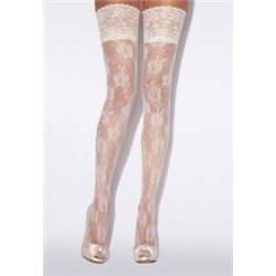 CHARNOS Bridal Lace net  Hold-ups