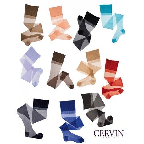 CERVIN  Bas Nylon CAPRI 15 couleurs