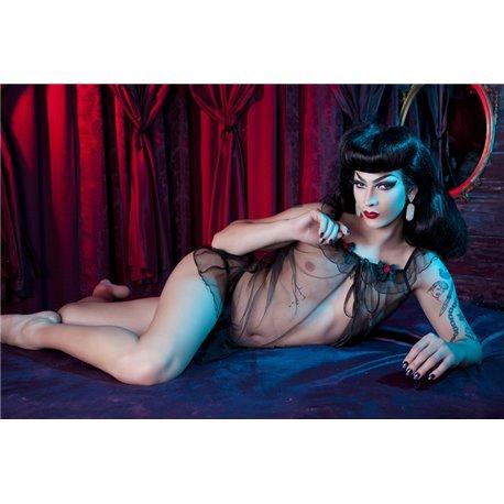 Set Nuisette + culotte Tulle Bettie Page par Playful Promised