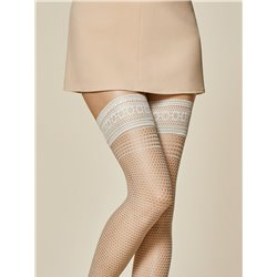 FIORE lycra Hold ups Nude
