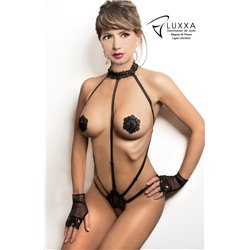 Luxxa Body Open String Harness Cachou  Black