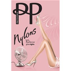 PRETTY POLLY Nylons 10 deniers  GLOSS Hold ups
