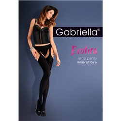 GABRIELLA Suspenders Tights Strip panty
