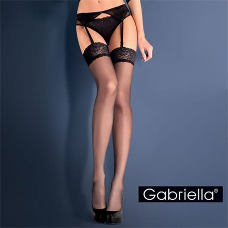 GABRIELLA Garter Set BLUE NIGHT