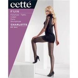 CETTE Collant Pois CHARLOTTE Size Plus