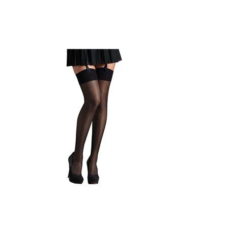 """ARISTOC /""""Sensuel de 15 deniers transparent Collants Avec Dentelle Culottes-Taille S"""