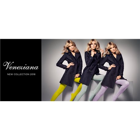 VENEZIANA - Satin 40 colors semi-Opaque tight