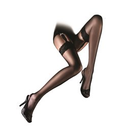 ARISTOC Sensuous Stockings Floral Lace