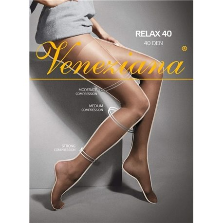 VENEZIANA Collant Relax 40 semi-opaque 1